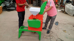 factory sale cotton stalk chaff cutter / green grass chaff cutter