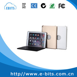 Bluetooth keyboard leather case for Ipad air 2 case with keyboard