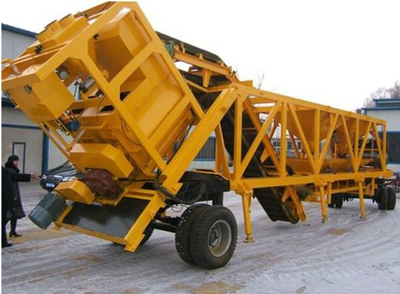Movable Batching Plant