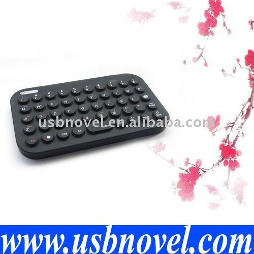 USB mini Bluetooth flexible keyboard for iPad,iPhone 4G,android