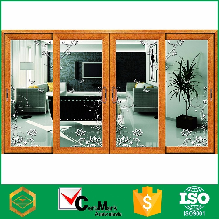 Exterior design Aluminum Glass Sliding Doors, Aluminum Stacking sliding doors