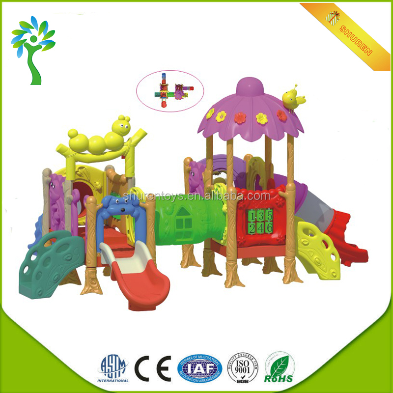 Kids used indoor playground parts roller slide playground near me with floorings for sale