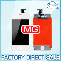 complete lcd+digitizer+back cover glass colors for iphone 4s lcd