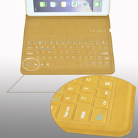 the thinnest 9.7inch Ultra-slim bluetooth keyboard case for IPAD AIR 1/2