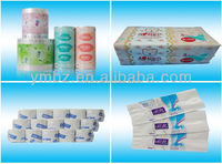 OEM manufacturer personal hygienic use custom printed plastic bags for tissue paper packaging
