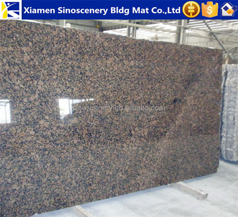 Baltic brown granite can be use for granite vase