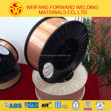 Factory price ABS certificates welding wire!! Low carbon steel Solid welding material!!Copper coated CO2 welding wire ER70S-6