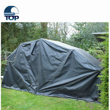 Wasserdicht Polyester garage folding erhitzt stoff auto shelter body kit car covers