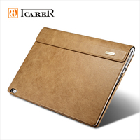 ICARER Shenzhou Genuine Leather Folio Tablet Case for Microsoft Surface Book
