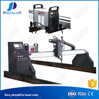 2500*6000mm cnc metal pipe cutting machine plasma