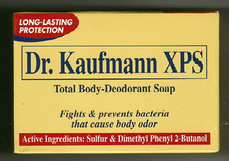 Dr. Kaufmann Total Body Deodorant Sulfur Soap 80g