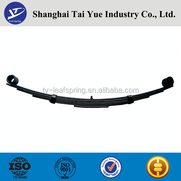 Hot sale TRA Series American Trailer Leaf Spring Shan Dong Factory