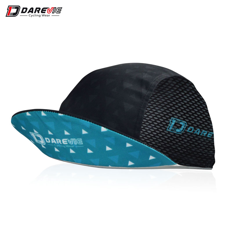 Darevie custom professional Outdoor Sports Summer UV Protection Mountain Bike Wear Moisture-wicking/anti-bacterial Cycling Cap