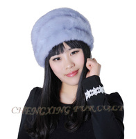 CX-C-177 Natural Colour 2015 Wholesale Genuine Mink Fur Hats