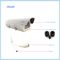 Low price 1.3 megapixel video surveillance camera