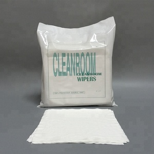 Industrial Disposable Cleanroom 9x9inch 1009sle Lint Free Printhead Cleaning Rag Wipe
