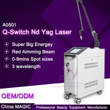 Top Quality nd:yag q-switch laser With Wavelength 1064nm 532 nm 1320nm
