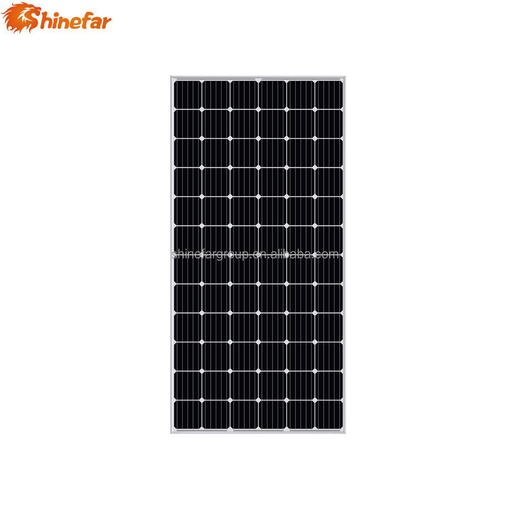 China manufacturer customized 19.71% cell efficiency complete solar panel system