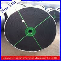 Heat Resistant Cotton Canvas / Polyester Conveyor Belting for Cement Plant