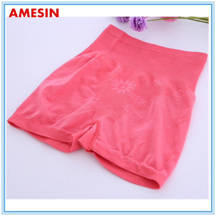 High Slimming Ladies Boxer Panties Your Own Brand Underwear Sport Wear