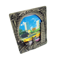 Antique rectangle metal picture photo frame/funny photo frame