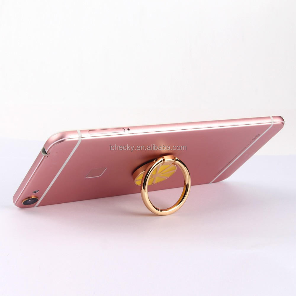 Free samples hot sale mobile phone ring stand gold design metal ring phone holder for iphone ring holder