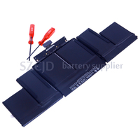 Wholesale lithium ion notebook battery for apple macbook pro retina a1494 a1398 battery