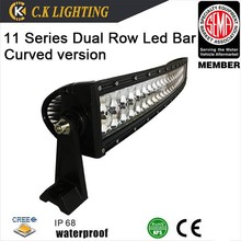rgb offroad bull led curved light bar