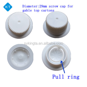 KT Screw type Gable top caps