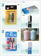 Fast epoxy/acetic strength AB fast bond adhesive glue