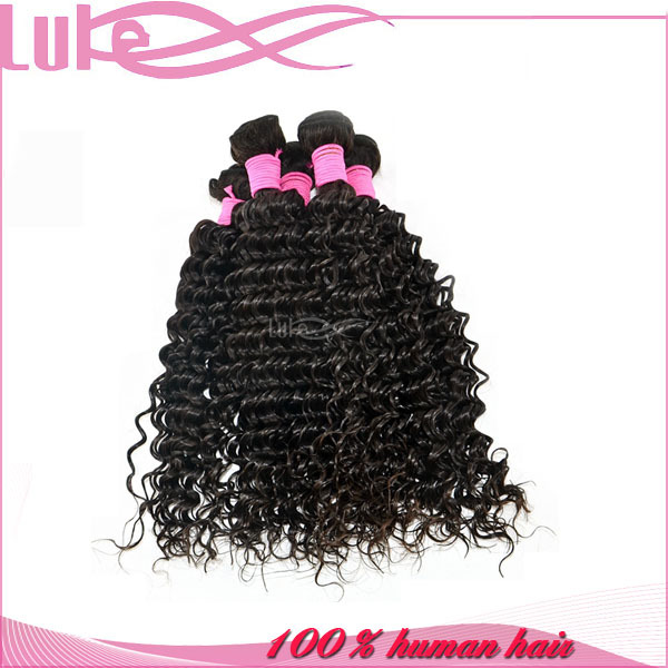 Factory Supply Soft Smooth Healthy Ends Virgin Cambodian Deep Curly Hair