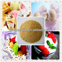 hot selling food grade gelatin in China as ice cream stabilizers