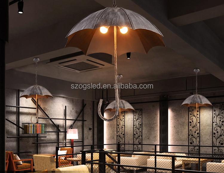 Interior decorative restaurant hanging lighting european
