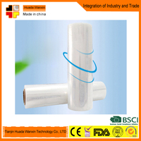 500mm plastic clear packing wrap delivery will be made in short time