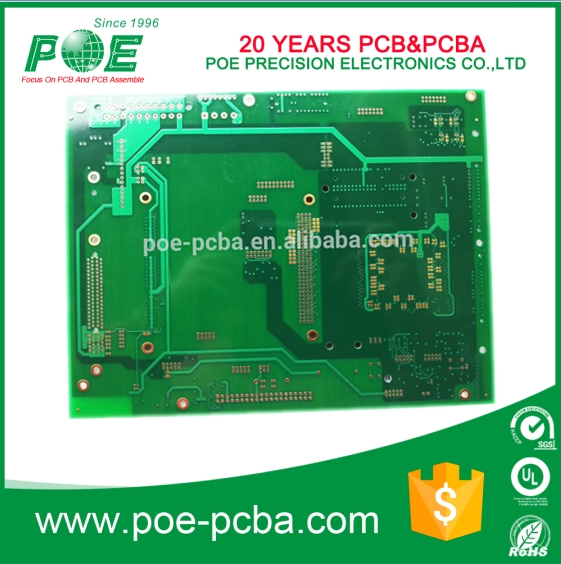 Universal immersion gold finish multilayer pcb board making with one stop service