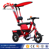 Colorful Pedal Baby Tricycle rubber wheels/Multifunction car Kids Trike Price/China Three Wheel Tricycle for Children