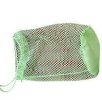 custom drawstring mesh soap bag