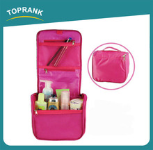 TOPRANK travel cosmetic bag set, cosmetic travel bag price, womens fashion travel hanging toiletry bag