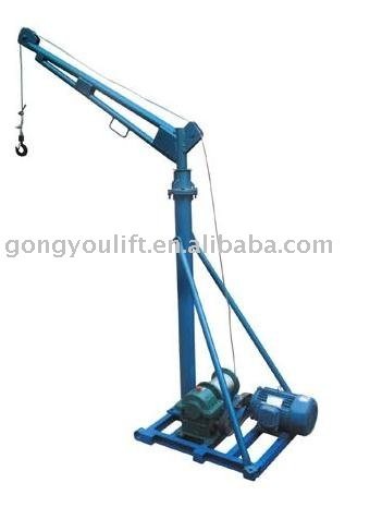 Hot sales!! 2013 New product!! portable crane lift/small crane for construction