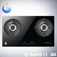 Global Patent Heat Recycle Intelligence restaurant equipment standard double burner gas stove burner