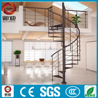 Outdoor metal spiral stairs, Circle stairs--YUDI