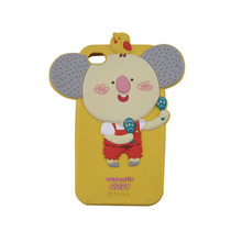 Elephant Silicone 3D Cell Phone Case made in dongguan