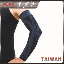 Black/Grey Power Compression Arm Sleeve, Arm Support