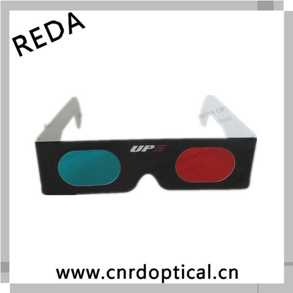 Beautiful cheap customized 3d red blue glasses in paper frame