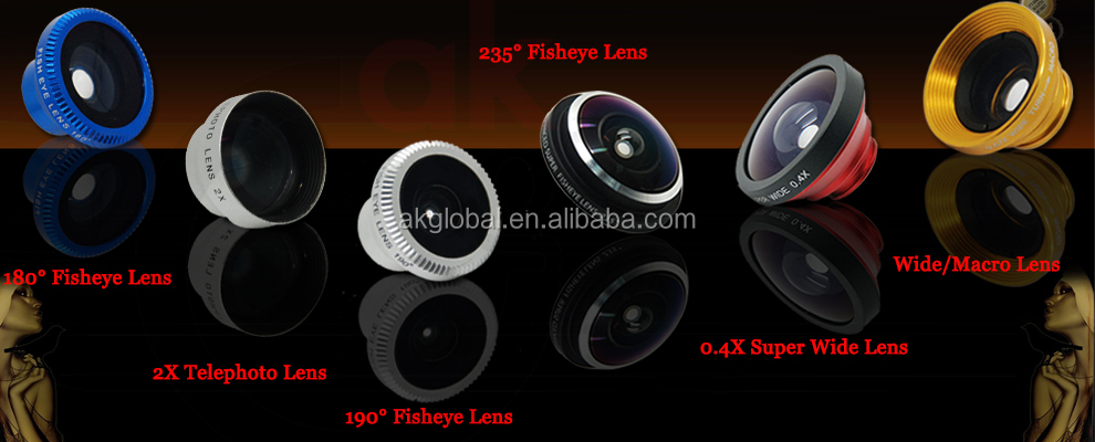External camera lens 68x Mobile Phone Microscope Zoom Magnifier With Led Light For iphone