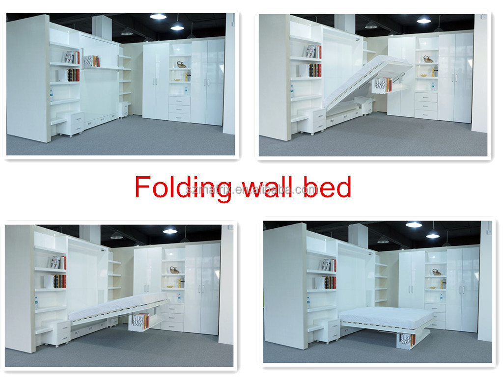 folding wall bed,murphy bed,wall bed,hidden wall bed,wall ...