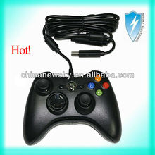 Hot selling black white wired controller for xbox live