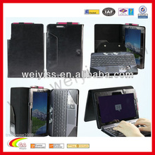 For ipad portfolio case with keyboard china supplier