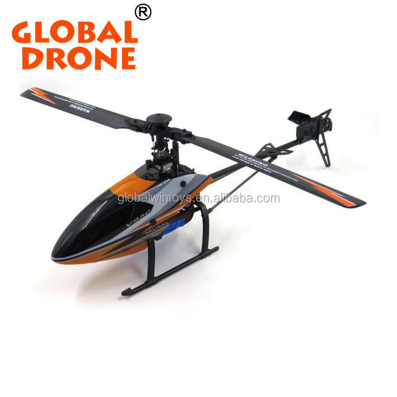 WLtoys v388 rc helicopter with LED lights built-in Metal Gyro, lighting little basket underneath rc toys
