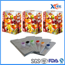 Popular soft packaging fruit juice bag in box